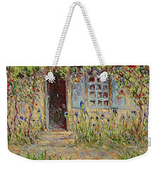 Rose Trees At The Front Of The House Weekender Tote Bag