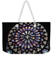 Rose Window Of Notre Dame Paris Weekender Tote Bag