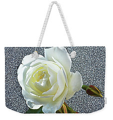 Rose With Some Sparkle Weekender Tote Bag by Terence Davis
