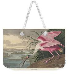 Roseate Spoonbill, 1836  Weekender Tote Bag