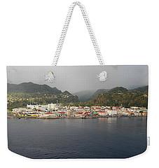 Roseau Dominica Weekender Tote Bag