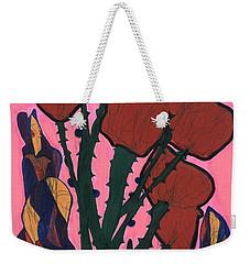 Rosebed Weekender Tote Bag