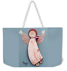 Rosebud Angel Weekender Tote Bag