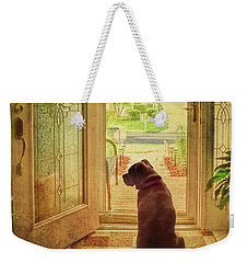 Rosebud At The Door Weekender Tote Bag