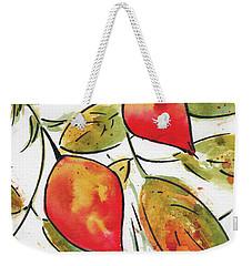 Rosehips In Autumn Weekender Tote Bag by Pat Katz