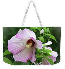 Rosemallow Weekender Tote Bag