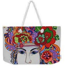 Rosemary Weekender Tote Bag by Alison Caltrider