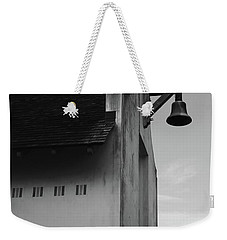 Rosemary Beach Post Office In Black And White Weekender Tote Bag