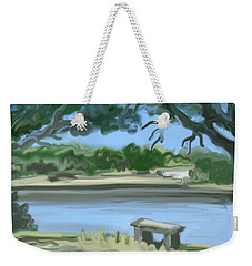 Rosemary Lake Weekender Tote Bag