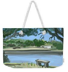 Rosemary Lake Weekender Tote Bag