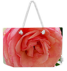 Roses And Clapboard Weekender Tote Bag by Beth Saffer