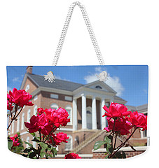 Roses At The Court House 2 Weekender Tote Bag