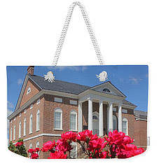 Roses At The Court House 3 Weekender Tote Bag