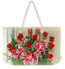 Rose's Weekender Tote Bag by Athala Carole Bruckner