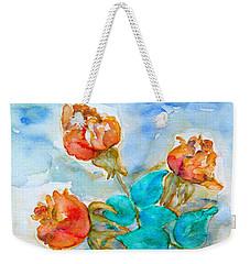 Roses Buds Weekender Tote Bag