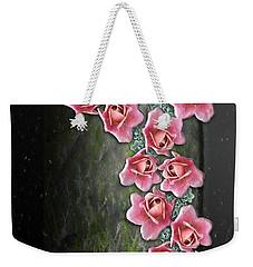 Roses Climbing Pillar Weekender Tote Bag
