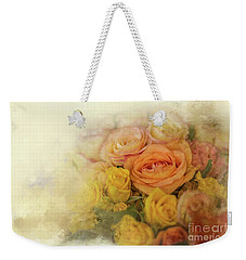 Roses For Mother's Day Weekender Tote Bag by Eva Lechner