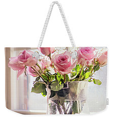 Roses In The Kitchen Weekender Tote Bag by Rima Biswas
