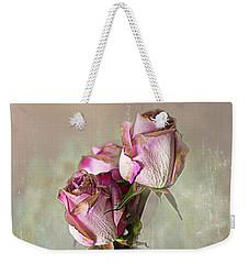 Roses In Vinegar Bottle Weekender Tote Bag