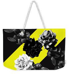 Roses Versus Yellow Weekender Tote Bag