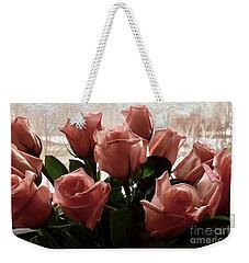 Roses With Love Weekender Tote Bag