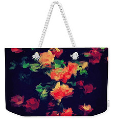 Roses Weekender Tote Bag by Wolfgang Rain