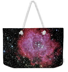 Weekender Tote Bag featuring the photograph Rosette Nebula In The Constellation Monoceros by Alan Vance Ley