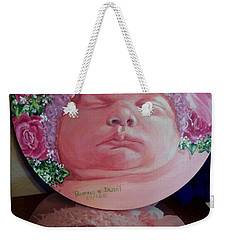 Rosey Little Babe Weekender Tote Bag