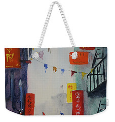 Ross Alley1 Weekender Tote Bag by Tom Simmons