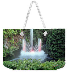 Ross Fountain Weekender Tote Bag by Betty Buller Whitehead