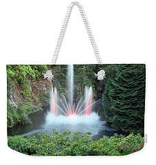 Ross Fountain Weekender Tote Bag