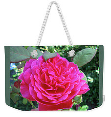 Rosy And Her Buds Weekender Tote Bag by Brooks Garten Hauschild
