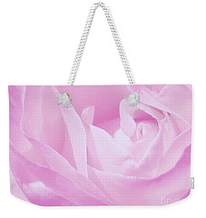 Rosy Cheek Pink Weekender Tote Bag by Janice Westerberg