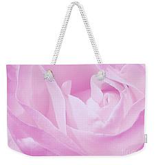 Rosy Cheek Pink Weekender Tote Bag
