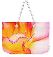 Rosy Curves Weekender Tote Bag by Teri Virbickis