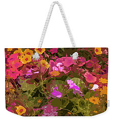 Rosy Garden Weekender Tote Bag