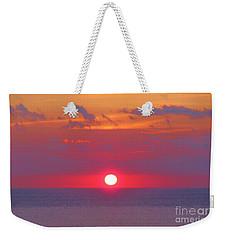 Rosy Sunrise Weekender Tote Bag