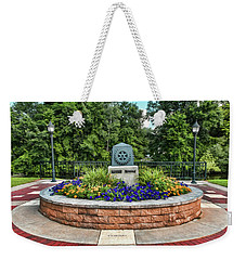 Rotary Park Monument Garden Weekender Tote Bag by Trey Foerster