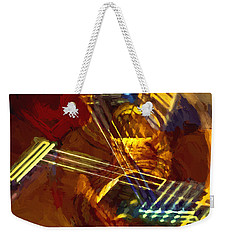 Rotation Brush Weekender Tote Bag