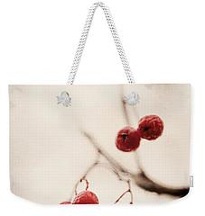 Rote Beeren - Red Berries Weekender Tote Bag