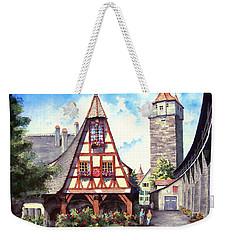 Rothenburg Memories Weekender Tote Bag