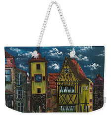 Rothenburg Ob Der Tauber Weekender Tote Bag by The GYPSY And DEBBIE