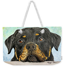 Rottweiler's Sweet Face 2 Weekender Tote Bag