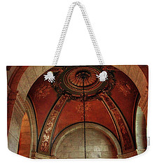 Weekender Tote Bag featuring the photograph Rotunda Ceiling by Jessica Jenney