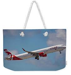 Rouge Air Canada Weekender Tote Bag