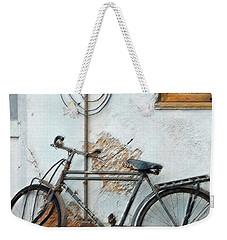 Rough Bike Weekender Tote Bag