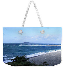 Rough Day On The Point Weekender Tote Bag by Barbara Griffin