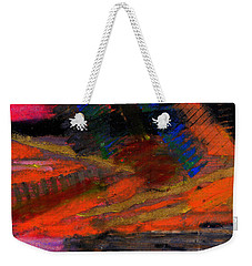 Rough Passage Weekender Tote Bag by Angela L Walker