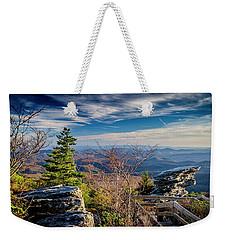 Rough Ridge View Weekender Tote Bag