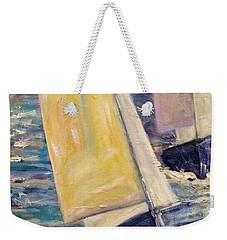 Rough Seas Weekender Tote Bag